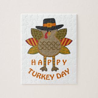 De gelukkige Dag van Turkije Legpuzzel