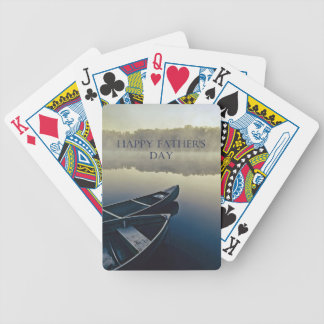 De gelukkige Dag van Vaders Poker Kaarten