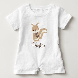 De gelukkige Eekhoorn personaliseert Romper
