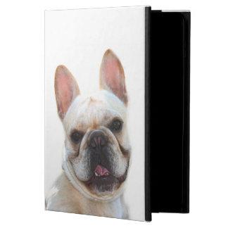 De gelukkige Franse hond van de Buldog iPad Air Hoesje