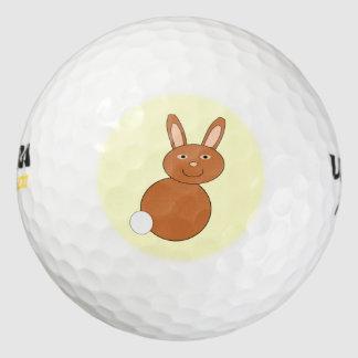De gelukkige Golfbal van de Paashaas Golfballen