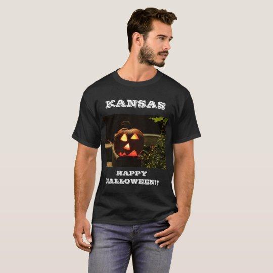 De Gelukkige Halloween T-shirt van Kansas