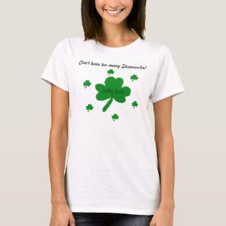 De gelukkige Ierse T-shirt van Klavers