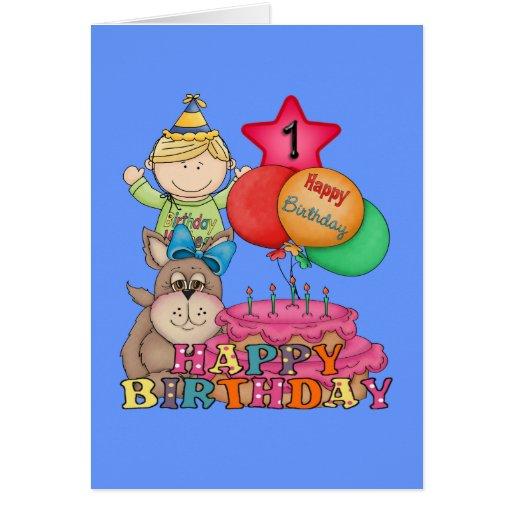 De gelukkige jongen van de ballons van de verjaard wenskaarten zazzle - Turquoise ruimte van de jongen ...