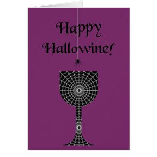 De gelukkige Kaart van Hallowine Halloween