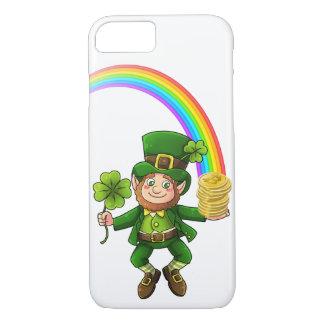 De gelukkige Kabouter van de Regenboog Bitcoin iPhone 8/7 Hoesje