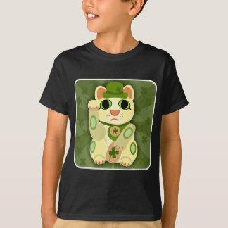 De gelukkige Kat van de Dag van Heilige Patrick T Shirt