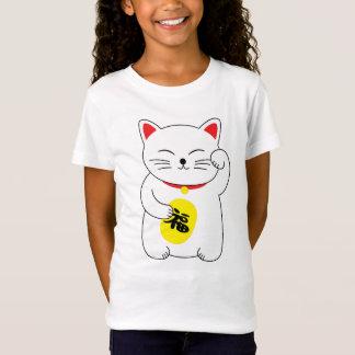 De Gelukkige Kat van Neko van Maneki T Shirt