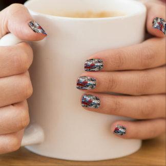 De gelukkige Minx van Waterpijpen Omslagen van de Minx Nail Art