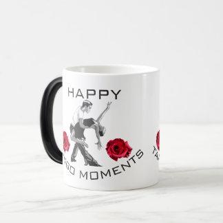 De gelukkige Mok van de Koffie van de Ogenblikken