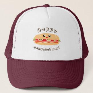 De gelukkige Nationale Leuke Dag van de Sandwich Trucker Pet