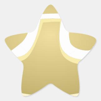 de gelukkige pastei van de pidag ster sticker