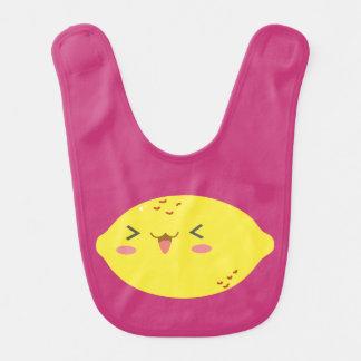 De gelukkige Slab van de Citroen Baby Slabbetje