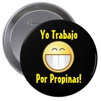 De gelukkige (Spaanse) Knoop van het Uiteinde Ronde Button 4,0 Cm