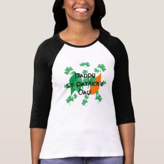 De gelukkige St. Patrick Ierse Vlag van de Dag met T Shirt