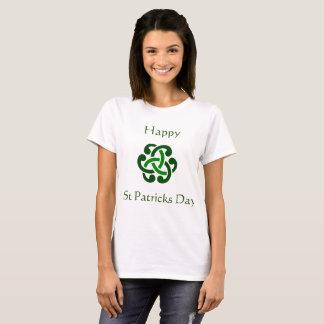 De gelukkige St Patrick T-shirt van de dagviering