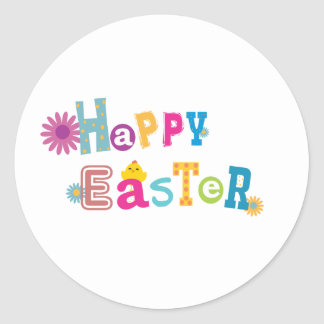 De gelukkige Sticker van Pasen