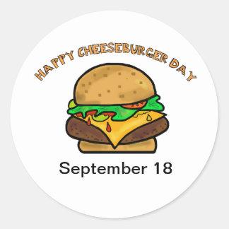 De gelukkige Stickers van de Dag van de