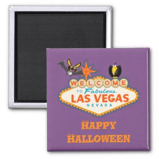 De gelukkige Stijl van Halloween Las Vegas Magneet