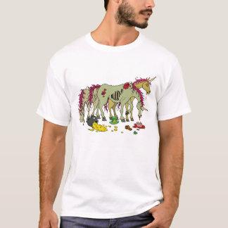 De gelukkige T-shirt van de Zombieën van de