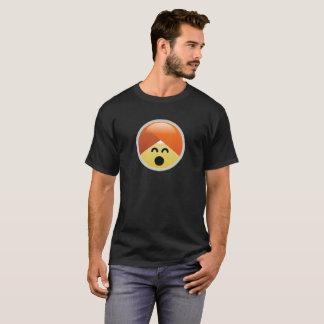 De gelukkige T-shirt van Emoji van de Tulband van