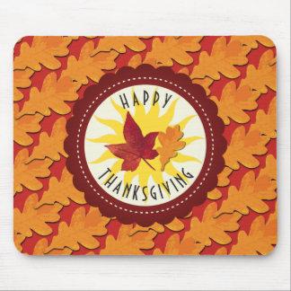 De Gelukkige Thanksgiving van de Kleuren van de Muismat