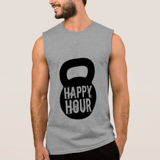 De gelukkige Training van de Gymnastiek Kettlebell T Shirt