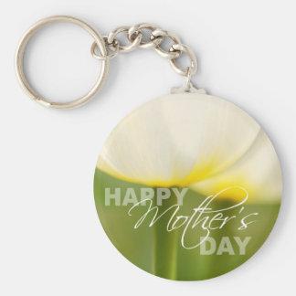 De gelukkige Tulpen van het Moederdag Sleutelhanger