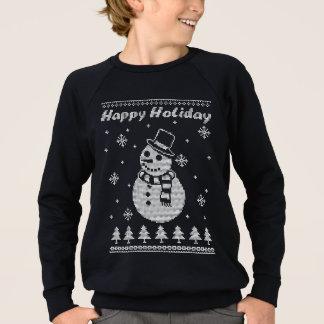 De gelukkige Vakantie van de Sneeuwman Trui