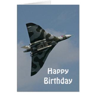 De gelukkige Verjaardag van Avro Vulcan Kaart