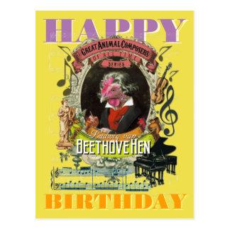 De Gelukkige Verjaardag van Beethoven van Briefkaart