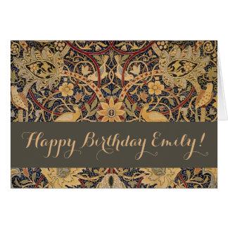 De Gelukkige Verjaardag van de Douane van William Kaart