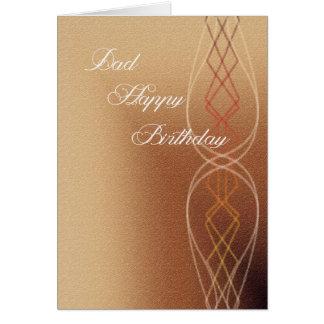De Gelukkige Verjaardag van de papa Briefkaarten 0