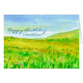 De Gelukkige Verjaardag van de Prairie van de Kaart