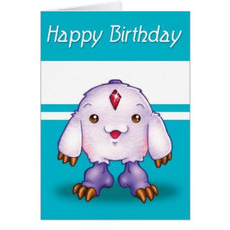 De Gelukkige Verjaardag van het Monster van Manga Briefkaarten 0