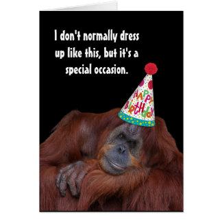 De Gelukkige Verjaardag van het Pet van de Partij Briefkaarten 0
