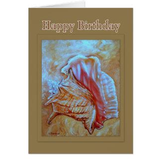 De Gelukkige Verjaardag van Shell van de kroonslak Kaart