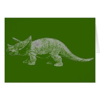 De Gelukkige Verjaardag van Triceratops Briefkaarten 0