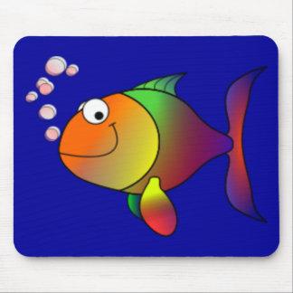 De gelukkige Vissen van de Regenboog Muismat