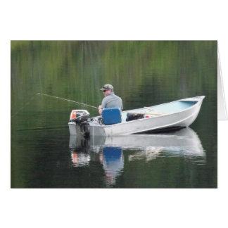 De gelukkige Vissersboot van de Schoonzoon van de Kaart