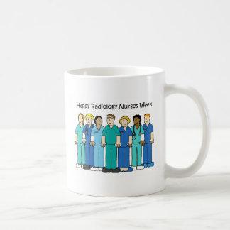 De gelukkige Week van de Verpleegsters van de Koffiemok