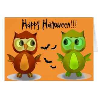 De gelukkige Wenskaarten van Halloween