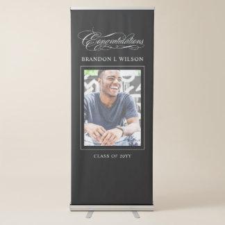 De Gelukwensen van de Afstuderen van het Jubileum Roll-up Banner