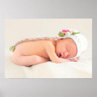 De Gelukwensen van het Meisje van het baby Poster