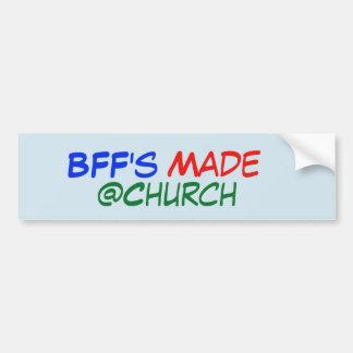 De Gemaakte @Church sticker van BFF