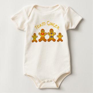 De Gember van het Team van de pret voor Gelukkige Baby Shirt