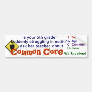 De gemeenschappelijke Sticker van de Bumper van de