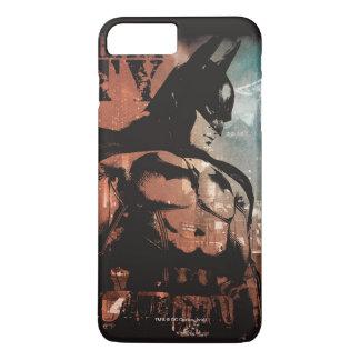 De gemengde media van de Stad van Arkham Batman iPhone 8/7 Plus Hoesje