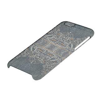 De Gemmen van het denim Doorzichtig iPhone 6/6S Hoesje