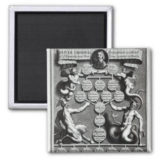 De genealogie van anti-Christus Oliver Koelkast Magneetje